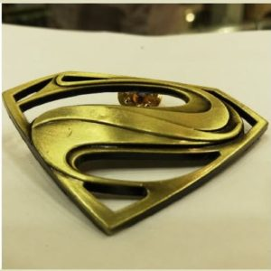 3D Superman Lapel Pin