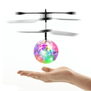 Flying Helicopter Disco Ball