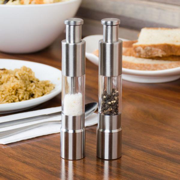 Buy Pepper & Salt Stainless Steel Grinder Handy Durable in Pakistan