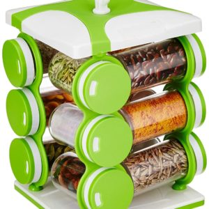 Buy Revolving Spice Rack Set for Kitchen in Pakistan