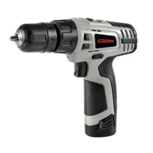 Crown CT20111L Cordless Drill Machine 10mm 10.8V Li-Ion