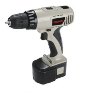 Crown CT21004N Cordless Drill Machine 10 mm 14.4 Volt.