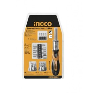 Ingco 24 pieces screwdriver kit HKSDB0248