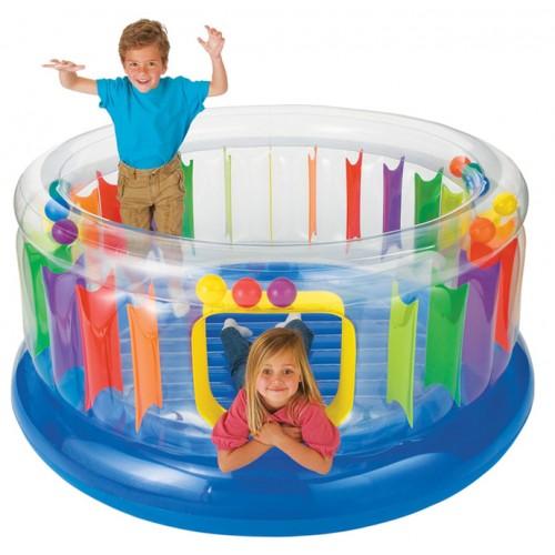 Intex Inflatable Jump-O-lene Transparent Ring Bouncer
