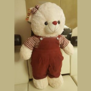 Soft-Teddy-Bear-34-Inches-with-Complete-Suit
