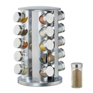 Buy Rotating Stainless Steel Spice Rack in Pakistan