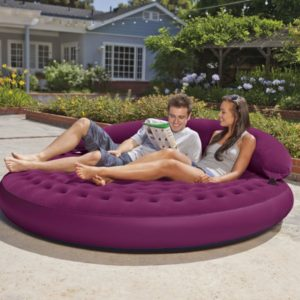 Air Bed Round Shape