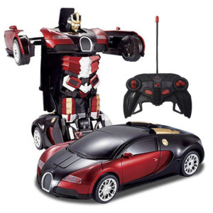 Remote Control Transformer Robot Car in Pakistan