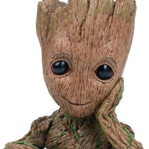 Buy Baby Groot Flowerpot with Water Beads in Pakistan