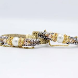 Buy Decent Pearl & Stone Bangle for Women in Pakistan