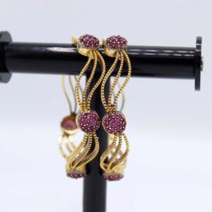 Buy Simple Purple Stone Bangle for Women in Pakistan