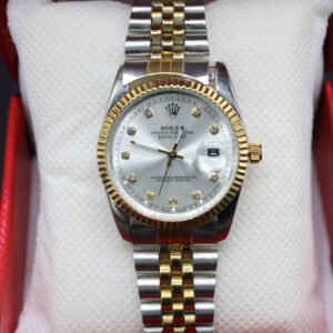 Buy Rolex Datejust Yellow Gold Steel White Mother of Pearl Diamond Dial in Pakistan