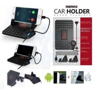 Buy Remax Car Phone Holder With Charger in Pakistan