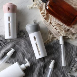 Buy 4 In 1 Portable Lotion Dispenser Travel Bottle Set in Pakistan